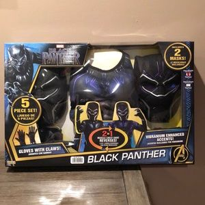 Black Panther 5 piece set 3-4 years old new